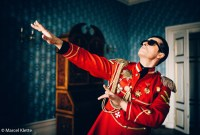 FALCO, Alexander Kerbst als Falco, Foto © Marcel-Klette
