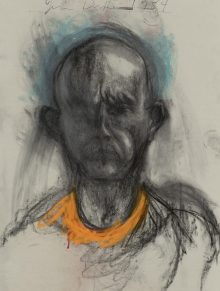 Jim Dine, Blick ins Dunkle, Selbstporträts,