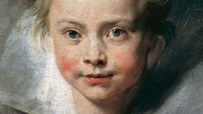 Porträt der Clara Serena Rubens, Art On Screen - NEWS - [AOS] Magazine