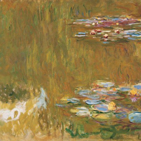 Monet bis Picasso, Die Sammlung Batliner, Claude Monet, Der Seerosenteich,