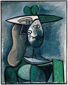 Monet bis Picasso, Die Sammlung Batliner, Pablo Picasso, Frau mit grünem Hut