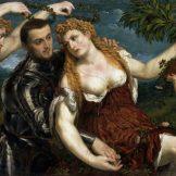 PARIS BORDONE, Allegorie (Mars, Venus, Victoria und Cupido), Die Poesie der venezianischen Malerei, Art On Screen - News - [AOS] Magazine