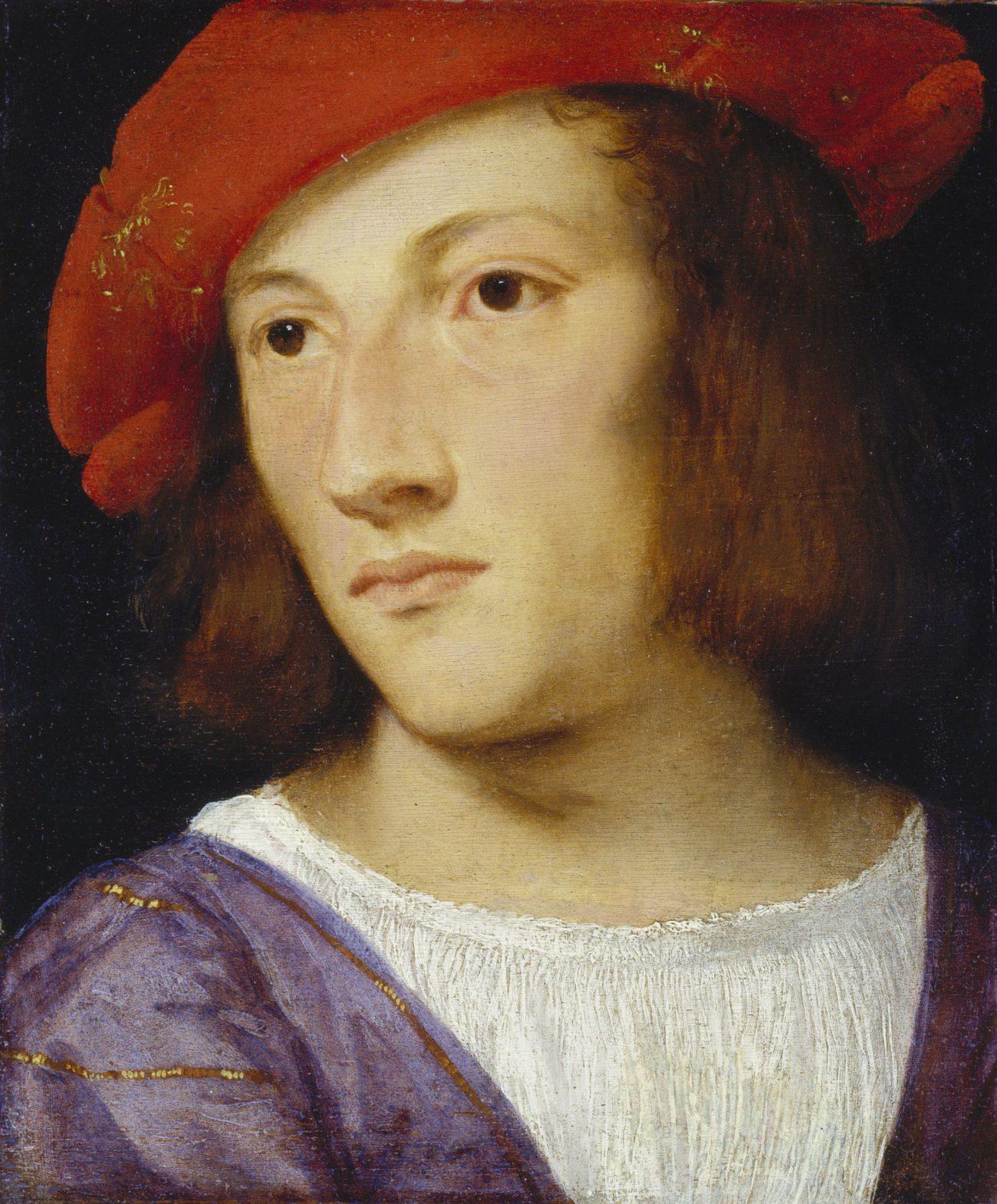 Tizian, Bildnis eines jungen Mannes, Die Poesie der venezianischen Malerei, Art On Screen - News - [AOS] Magazine