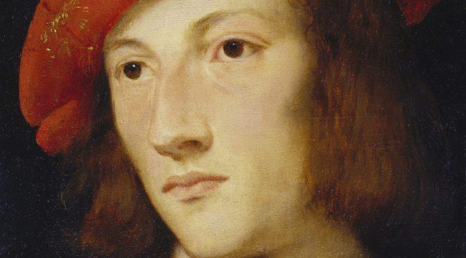 Tizian – Bildnis eines jungen Mannes