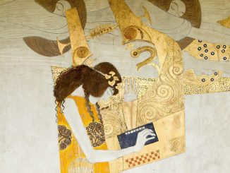 Gustav Klimt, Wiener Secession, Beethovenfries, Detail rechte Wand (Poesie), Poesie, Art On Screen - News - [AOS] Magazine