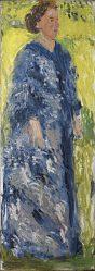 Richard Gerstl, Mathilde Schönberg im Garten, Richard Gerstl Retrospektive,