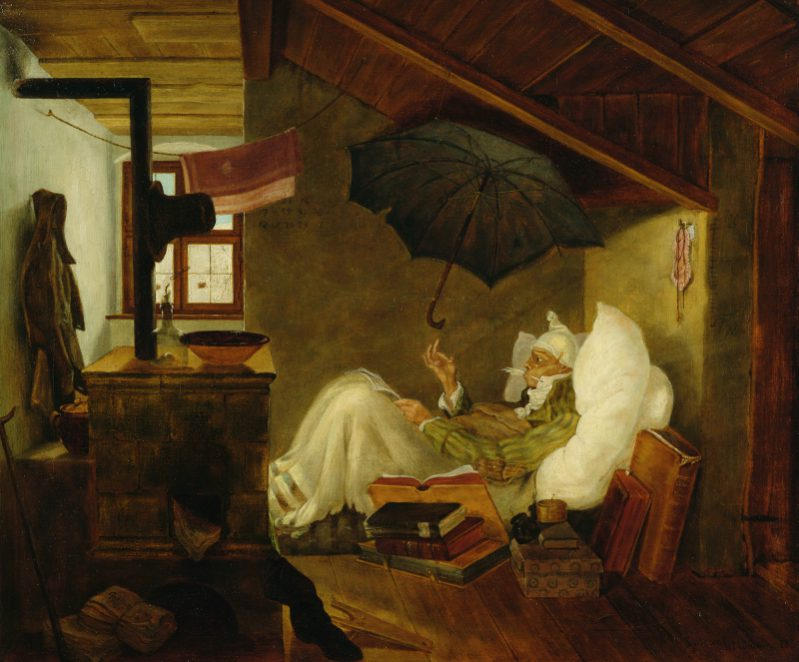 Carl Spitzweg trifft auf Erwin Wurm, Art On Screen - News - [AOS] Magazine