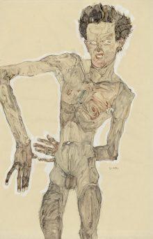 Egon Schiele , Gedenkjahr 2018, Art On Screen - News - [AOS] Magazine