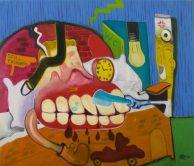 Peter Saul, amerikanischer pop art maler, Peter Saul Maler,