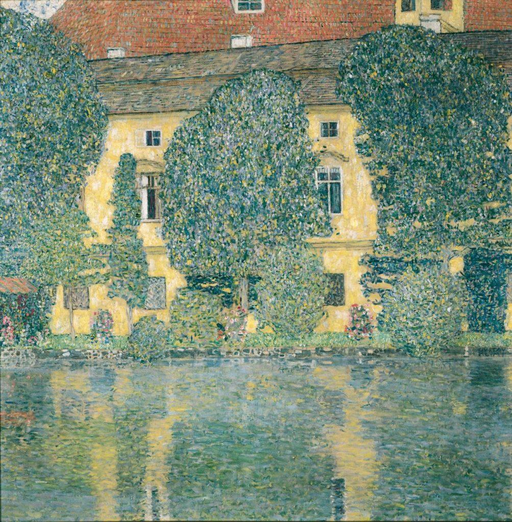 Gustav Klimt, Schloss Kammer am Attersee III, Art On Screen - News - [AOS] Magazine