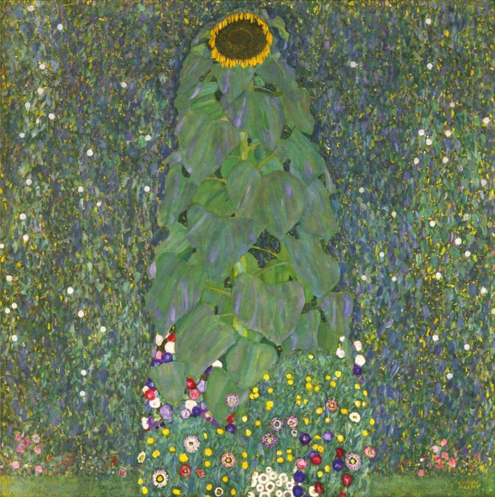 Gustav Klimt, Sonnenblume, Art On Screen - News - [AOS] Magazine