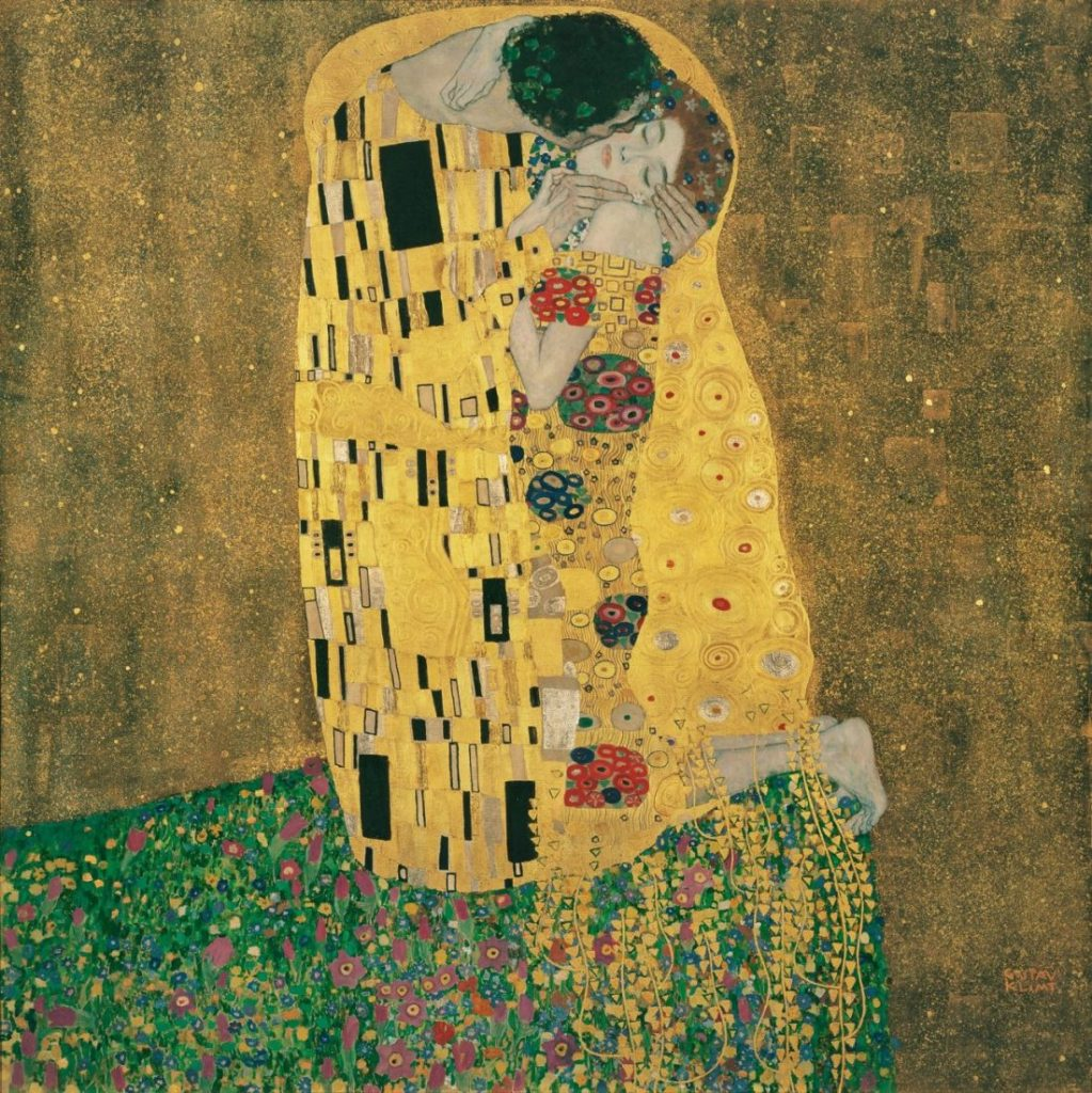 Gustav Klimt, Kuss, Art On Screen - News - [AOS] Magazine