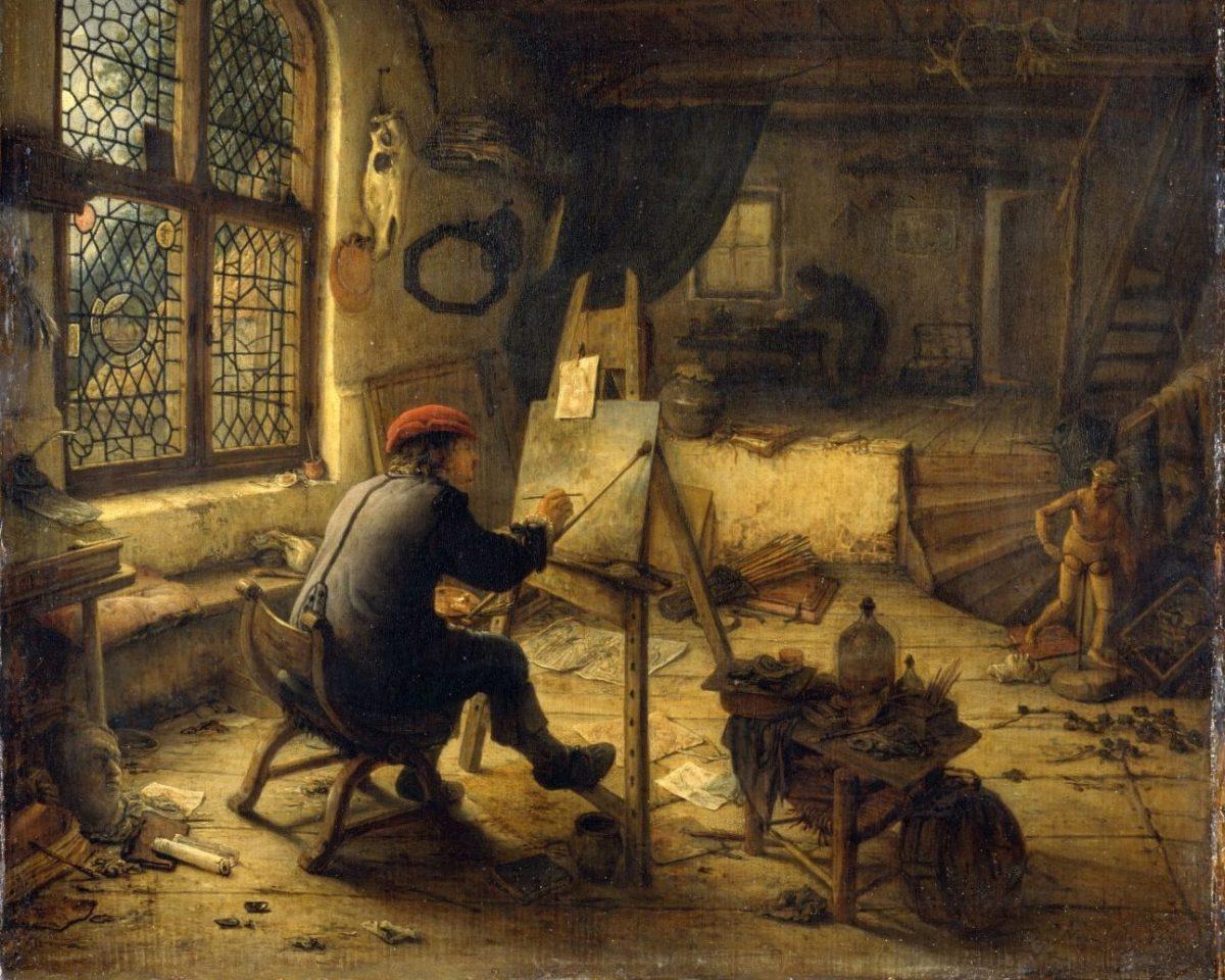 Die Geburt des Kunstmarktes. Rembrandt, Ruisdael, van Goyen...