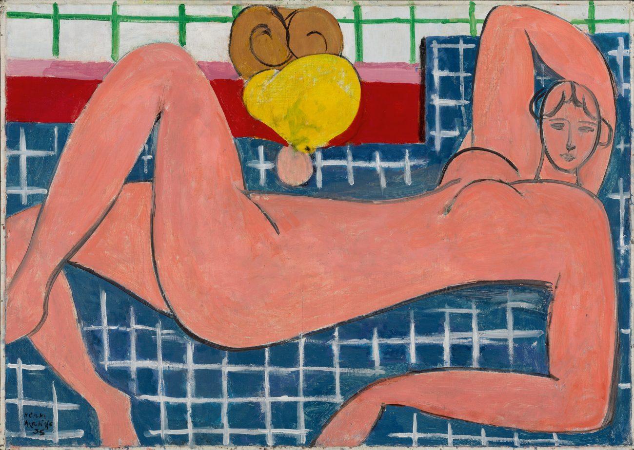 Matisse - Bonnard - Ausstellung, Henri Matisse, Großer liegender Akt,