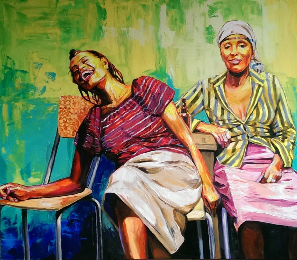 Enke Caecilie Jansson, Laughing Ladies © Enke Caecilie Jansson - Art On Screen - NEWS - [AOS] Magazine