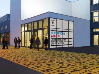 Berlinische Galerie, Buchstabenfeld mit Künstlernamen, Art On Screen - NEWS - [AOS] Magazine
