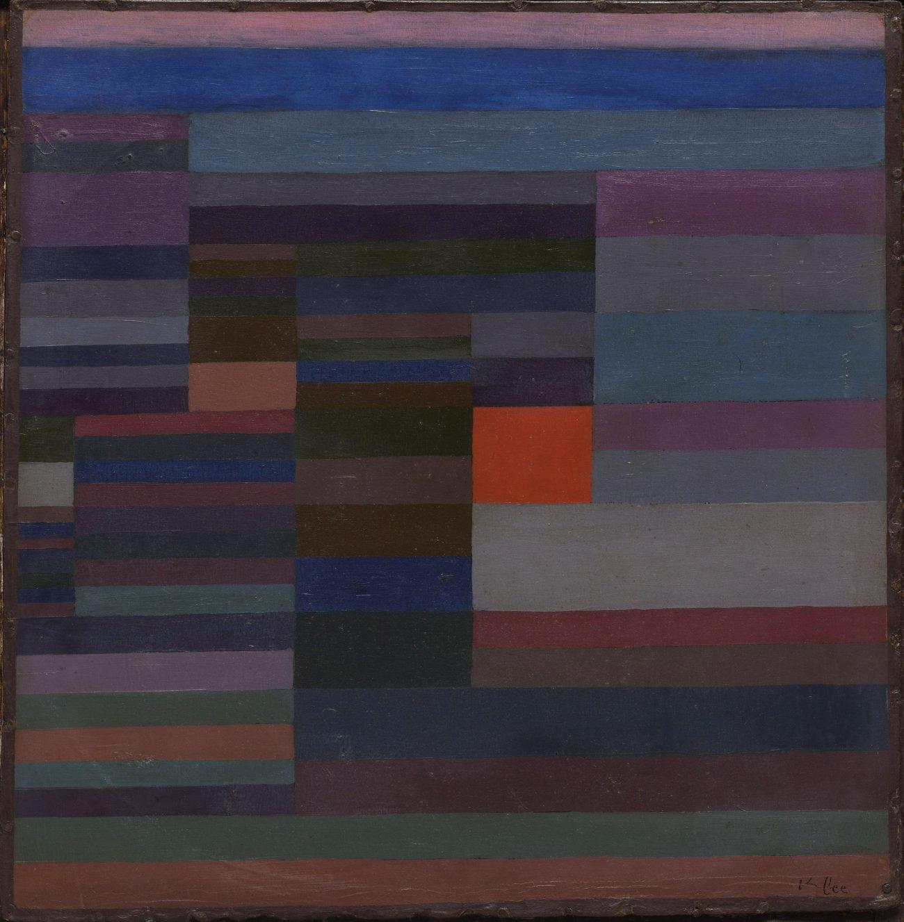 Paul Klee Ausstellung, PAUL KLEE, FEUER ABENDS, The Museum of Modern Art, New York