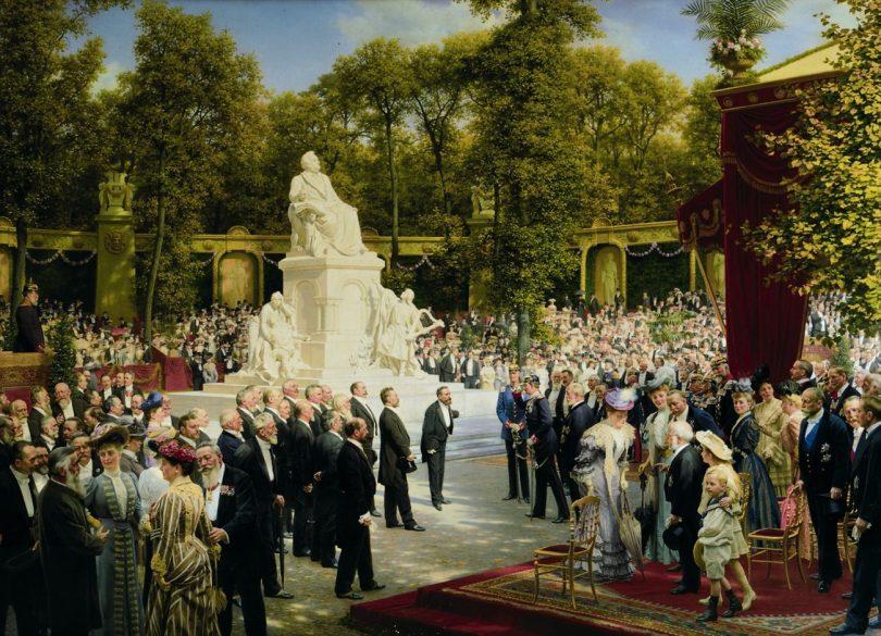 Berlinische Galerie, Anton von Werner, Enthüllung des Richard-Wagner-Denkmals im Tiergarten, Art On Screen - NEWS - [AOS] Magazine