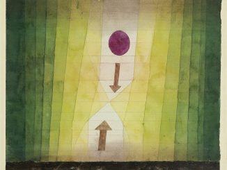 PAUL KLEE, VOR DEM BLITZ, 1923, 150, Aquarell und Bleistift auf Papier, 28 x 31,5 cm, Fondation Beyeler, Riehen/Basel, Sammlung Beyeler, Art On Screen - News - [AOS] Magazine