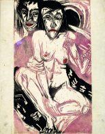 Gurlitt Ausstellung - Das Kunstmuseum Bern, Ernst Ludwig Kirchner, Melancholisches Mädchen, Art On Screen - News - [AOS] Magazine