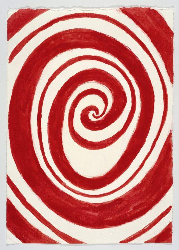 Die Sammlung Beyeler, LOUISE BOURGEOIS, THE HOURS OF THE DAY, 2006, Wasserfarbe und Farbstift auf geprägtem Papier, Art On Screen - News - [AOS] Magazine
