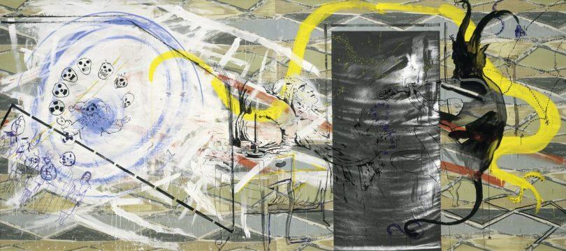 SIGMAR POLKE, PAGANINI, 1980-1982, Dispersion auf Leinwand, Art On Screen - News - [AOS] Magazine