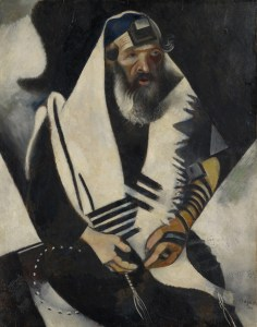 Kunstmuseum Basel, Marc Chagall, Der Jude in Schwarz-Weiss (Le juif en noir et blanc), 1914 Öl auf Karton, Art On Screen - News - [AOS] Magazine