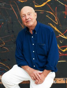 Georg Baselitz, in seinem Atelier, 2014, Foto: Peter Knaup, Berlin, Art On Screen - News - [AOS] Magazine