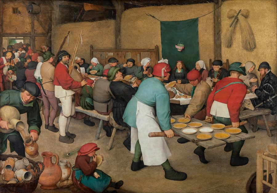 Peter Bruegel - Bauernhochzeit, Art On Screen - NEWS - [AOS] Magazine