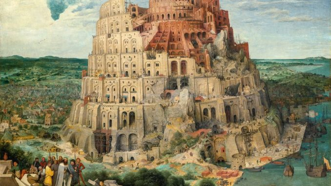 Pieter Bruegel - Turmbau zu Babel, Art On Screen - NEWS - [AOS] Magazine
