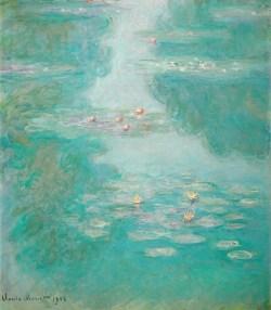 Claude Monet - Seerosen 1908, Art On Screen - NEWS - [AOS] Magazine