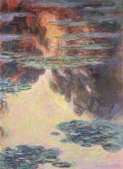 Claude Monet - Seerosen 1907, Art On Screen - NEWS - [AOS] Magazine