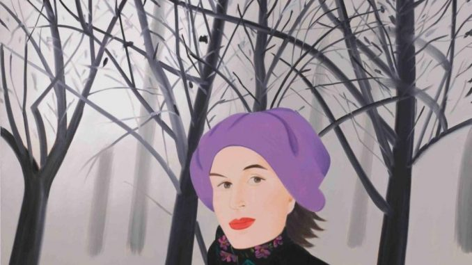 Alex Katz Ausstellung, Alex Katz, January 4, 1992 Öl auf Leinwand, 231,1 x 307,3 cm, Sammlung Thaddaeus Ropac , London • Paris • Salzburg © Alex Katz, VG Bild-Kunst, Bonn 2018 | Art On Screen - NEWS -[AOS] Magazine