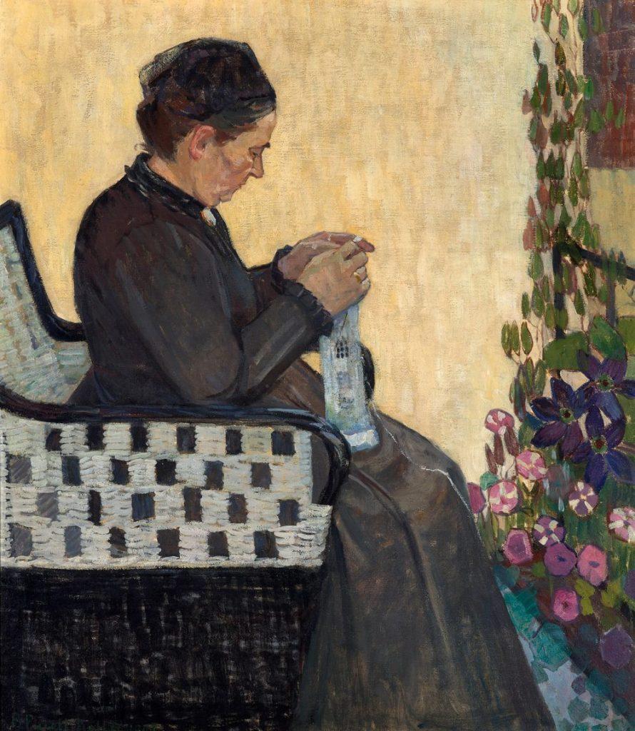 Stadt der Frauen, Broncia Koller-Pinell, Die Mutter der Künstlerin, 1907, Foto: Johannes Stoll © Belvedere, Wien