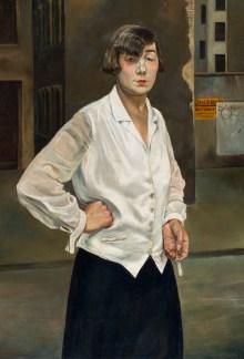 Welt im Umbruch, Kunst der 20er Jahre, Rudolf Schlichter - Margot,   Art On Screen - NEWS - [AOS] Magazine