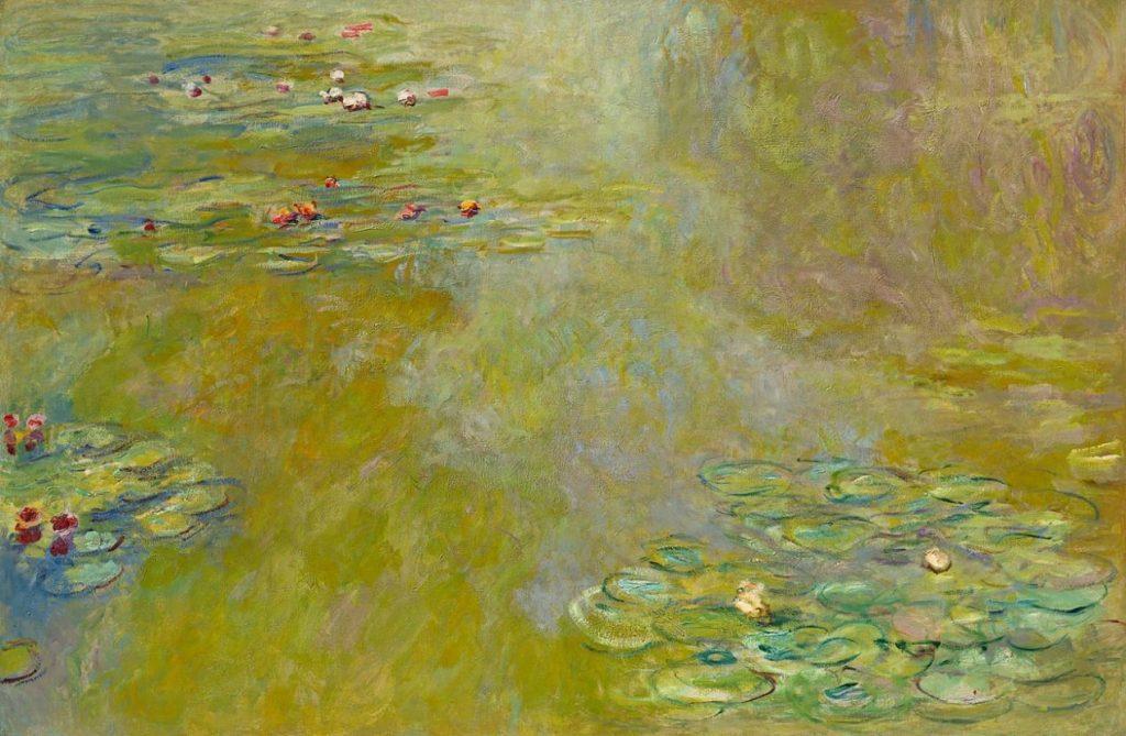 Claude Monet, Der Seerosenteich, Claude Monet Orte, Museum Barberini