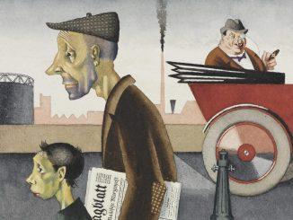 Welt im Umbruch, Kunst der 20er Jahre, Georg Scholz - Arbeit schändet, | Art On Screen - NEWS - [AOS] Magazine