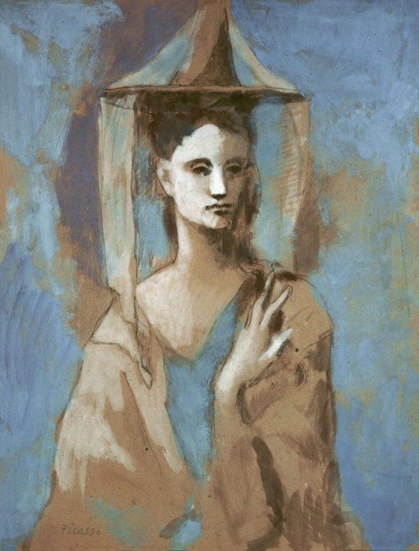 Picasso in Blau und Rosa, PABLO PICASSO, FEMME DE L'ÎLE DE MAJORQUE, Fondation Beyler