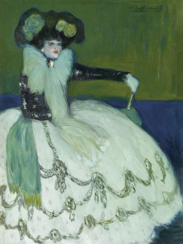 Picasso in Blau und Rosa, PABLO PICASSO, FEMME EN BLEU, Fondation Beyler