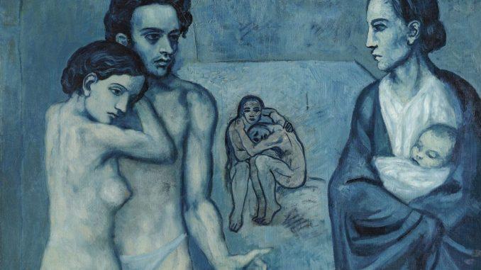 Der junge Pablo Picasso, Blaue und Rosa Periode, PABLO PICASSO, LA VIE, 1903
