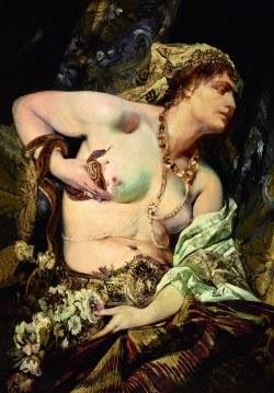 Hans Makart, Der Tod der Kleopatra, Ausstellung Rubens bis Makart, Die Fürstlichen Sammlungen Liechtenstein, Albertina Wien