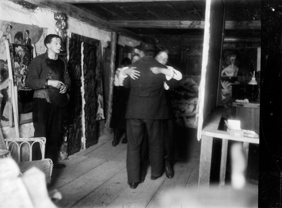Ernst Ludwig Kirchner, Maler und Bildhauer, Der Maler als Fotograf, Bauerntanz, Museum der Moderne, Ausstellung in Salzburg