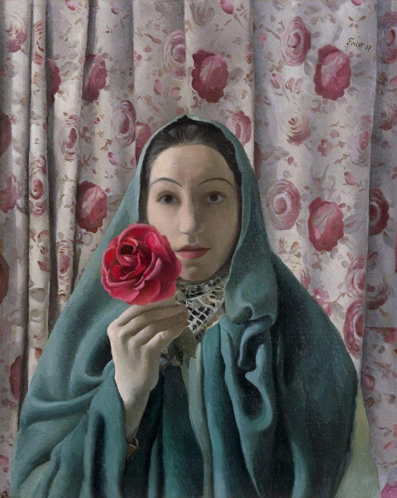 GRETA FREIST - La Femme aux Roses, Wien um 1900, Aufbruch in die Moderne, GRETA FREIST, La Femme aux Roses, Ausstellung in Wien, Leopold Museum