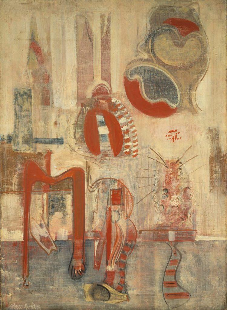 Mark Rothko - Room in Karnak, Mark Rothko Ausstellung, Mark Rothko Bilder, Rothko Ausstellung in Wien, Rothko Retrospektive im KHM, Kunsthistorisches Museum