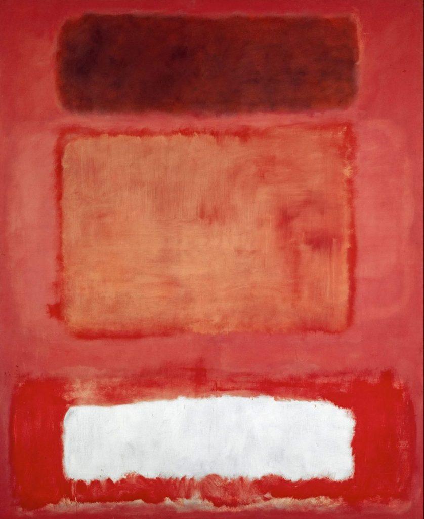 Mark Rothko, No. 16 , Red, White and Brown, Mark Rothko Ausstellung, Mark Rothko Bilder, Rothko Ausstellung in Wien, Rothko Retrospektive im KHM, Kunsthistorisches Museum