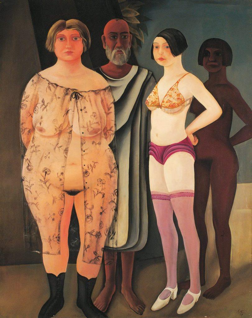 OTTO RUDOLF SCHATZ - Die Hoffnung, Wien um 1900, Aufbruch in die Moderne, OTTO RUDOLF SCHATZ, Die Hoffnung, Ausstellung in Wien, Leopold Museum