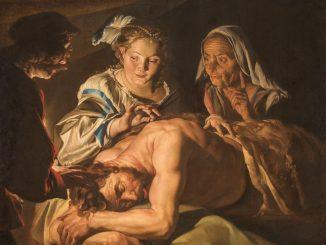 Matthias Stom, Samson und Delila, Wege des Barock, Die Nationalgalerien Barberini Corsini in Rom, Ausstellung Wege des Barock