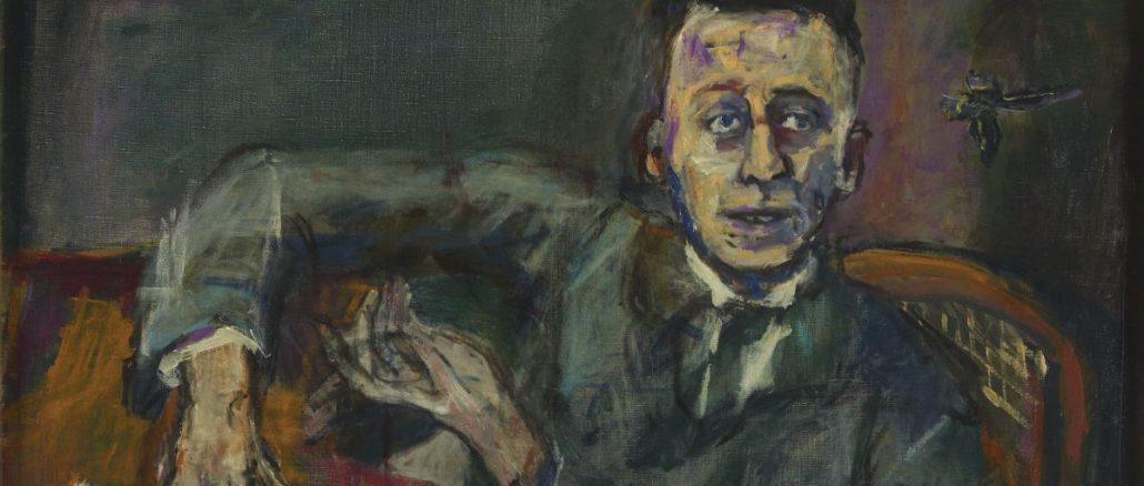 OSKAR KOKOSCHKA, Karl Kraus, Karl Kraus II,Gemälde Karl Kraus II,