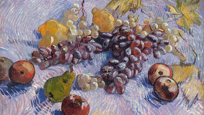 Vincent van Gogh, Trauben, Zitronen, Birnen und Äpfel, Van Gogh Stillleben, Von Gogh Ausstellung, Stillleben, Museum Barberini