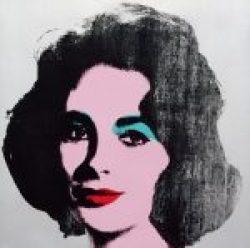 Andy Warhol, Silver Liz, andy warhol Werke, Ausstellung AMERIKA, DISNEY, ROCKWELL, POLLOCK, WARHOL